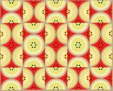 Circles Red Yellow Black