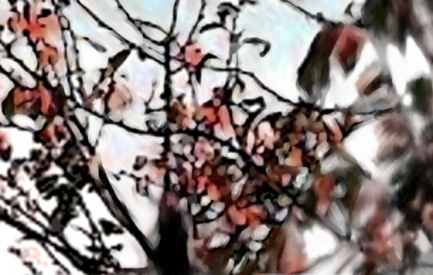 Italian Leaves Red