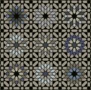 Morocco 3 Black Gray Blue