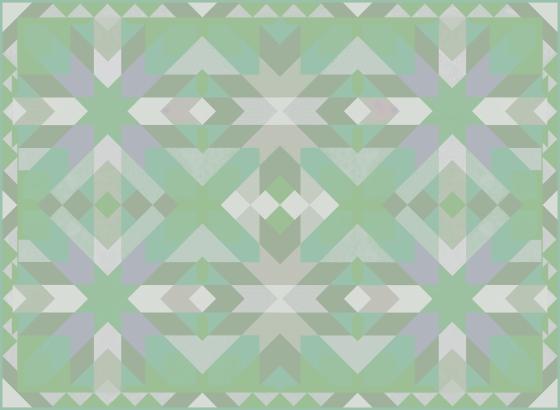 Morocco 1 Green Aqua Gray