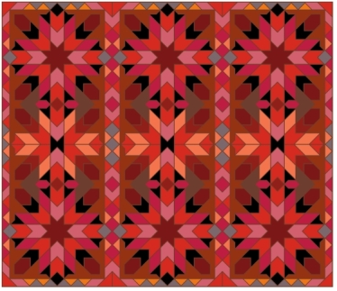 Morocco 2x3 Red