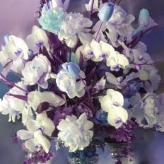 Tommy Centerpiece Lavender