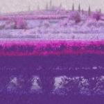 Villa Giona Olive Terrace Impressionist Purple
