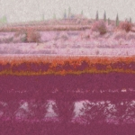 Villa Giona Olive Terrace Impressionist Pink/Rust