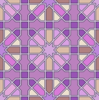 This image is based on an old Moroccan stone paving pattern.